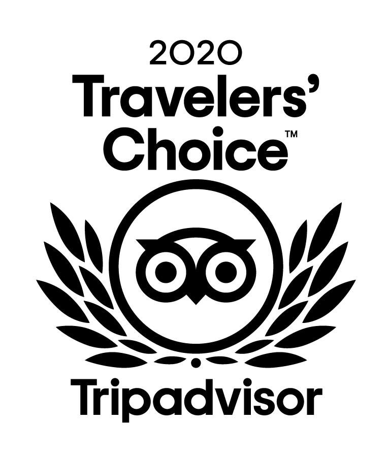 tripadvisor travelers choice badge 2020